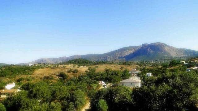Vue sur le mont Gozzi pour toutes les mini-villas